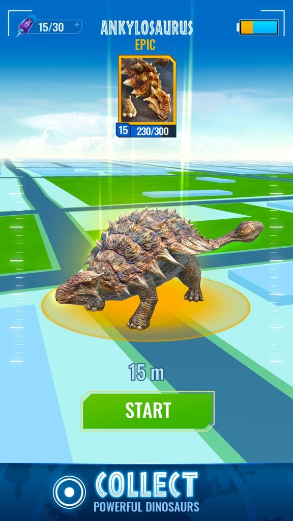 App Jurassic World Alive