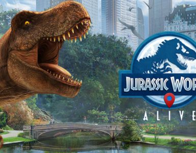 Jurassic World Alive app