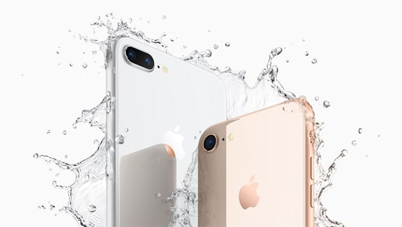 iPhone 8 waterbestendig