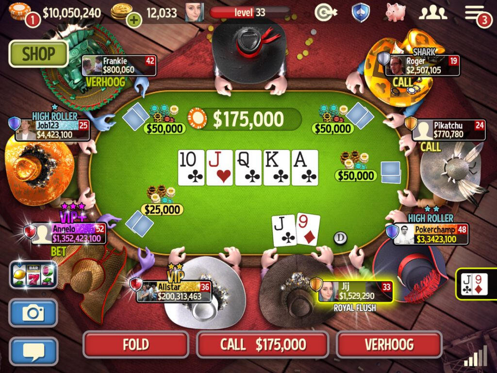 Governor of Poker iOS en Android